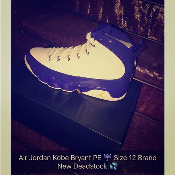 huge discount 85023 12805 Air Jordan Kobe Bryant PE 9s